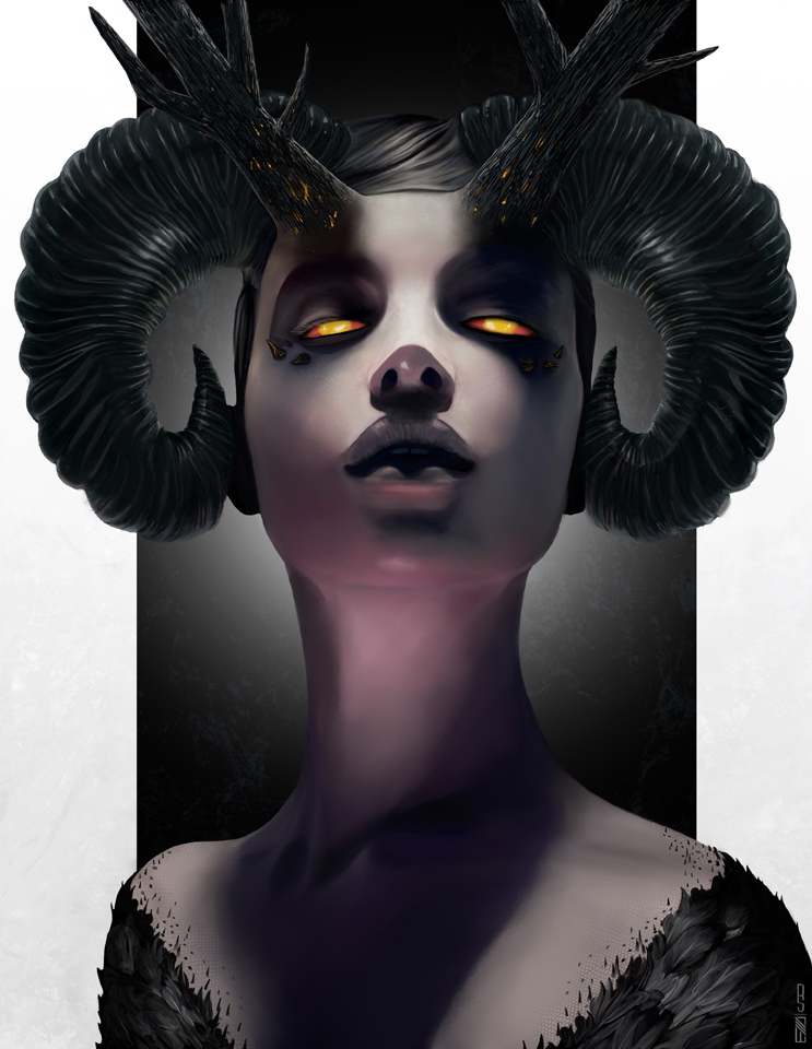 'Malificent' created for slashTHREE Exhibition #18