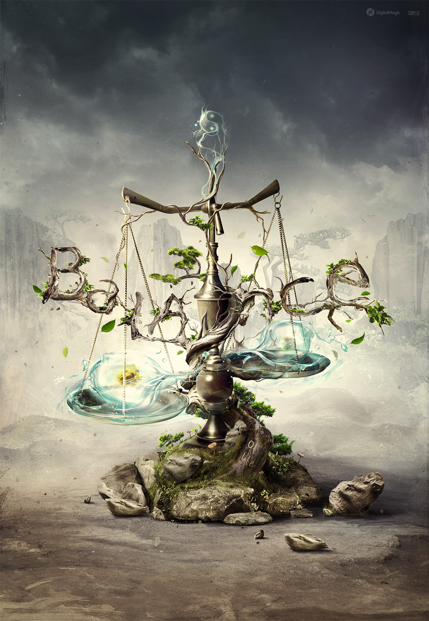 'Balance of Life' created for slashTHREE Exhibition #15