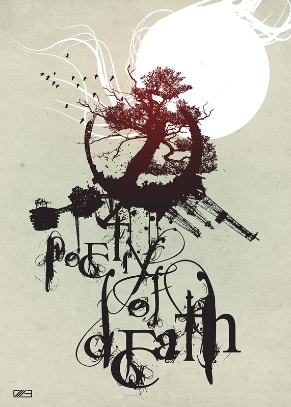 'Poetry of Death' created for slashTHREE Exhibition #8